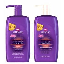 Kit Aussie Smooth 865ml - Shampoo E Condicionador +brinde