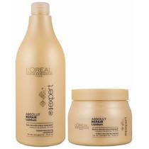 Shampoo 1500ml + Máscara 500g Loreal Absolut Repair Lipidium