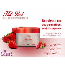 Máscara Intensificadora Vermelha Red Hot - Lisse
