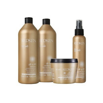 Redken All Soft Kit Shampoo 1l + Condicionador 1l + Máscara