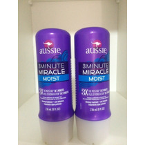 Kit Com 2 Máscara Aussie 3 Minute Miracle Moist 236ml