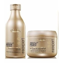 Loreal Absolut Repair Lipidium Shampoo E Máscara