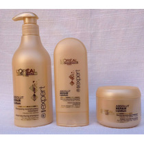 Kit Loreal Shampoo 500ml + Condicionador 150ml + Máscara 200