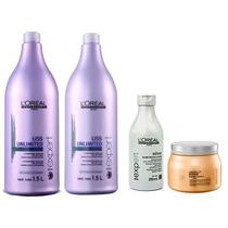Kit Loréal Profissional - 4 Produtos