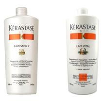 Kit Kerastase Shampoo 1l + Condicionador 1l