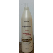 Shampoo Shock3 Oleo De Argan - Nutrahair
