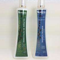Kit Hidratação De Impacto Shampoo Progress 500 Ml Midori