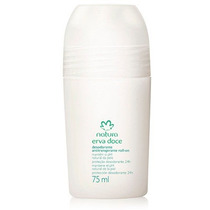 Desodorante Antitranspirante Roll-on Erva Doce - 75ml