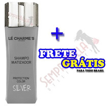 Shampoo Matizador Silver Protection Color Lé Charmes Intensy