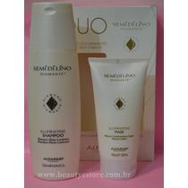 Alfaparf Kit Semi Di Lino Diamante Shampoo + Máscara