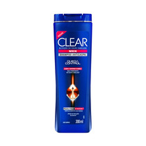 Shampoo Clear Men Anticaspa Queda Control Com 200 Ml
