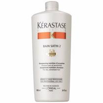 Kerastase Nutritive Shampoo 1 Litro Bain Satin 2 + Válvula