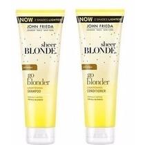 Kit Go Blonder John Frieda Shampoo Condicionador Original