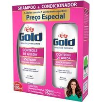 Shampoo + Condicionador Niely Gold Controle De Queda