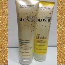 Shampoo E Condicionador Sheer Blonde Jhon Frieda Original