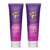 Kit Pure Blonde Fashion Cosmeticos 12 Unidades + Brinde