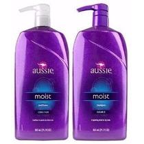 Kit Shampoo + Condicionador Aussie Moist 865ml - Original