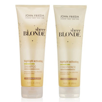 Kit Shampoo + Condic John Frieda Sheer Blonde - Loiro Escuro