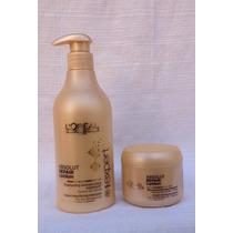 Kit Loreal Shampoo 500 Ml + Máscara 200 Gramas
