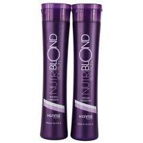 Shampoo Roxo - Honma Nutriblond Solution Kit Home