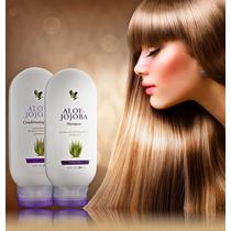 (kit Com 2) Shampoo De Aloe Vera Forever, Frete Grátis!