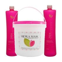 Manga Rosa Profissional Máscara Hidratação Shampoo E Condici