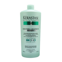 Kerastase Resistence Shampoo Bain De Force Architecte 1000ml