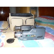 Antiga Filmadora Vhs Sharp Completa Não Fusiona