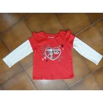 Camisetas Sonoma Infantil Tam 2 Anos Nova Original