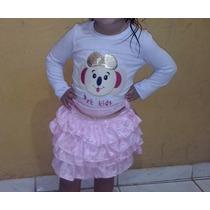 Conjunto Lilica Ripilica Tam 5 Até 7 Anos