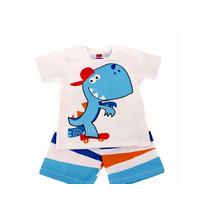 Conjunto Infantil Dino Frete Grátis Get Baby T.02 E 03 Anos