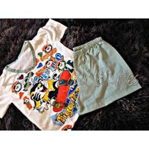 Pijama Infantil Baby Doll Tigor Tigre