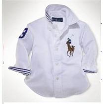Camisa Polo Ralph Lauren Menino 2 A 6 Anos - Frete 10,00