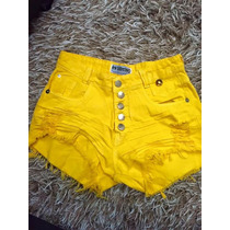 Shorts Jeans Colorido