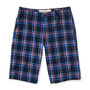 Aeropostale Mens Plaid Mini-frente Casual Shorts Bermudas
