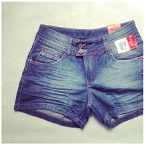 Shorts Mix Jeans Feminino - Modelo Boyfriend 100% Algodão