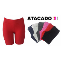 Shorts Infantil Leggings Fitness Academia Feminino Cotton