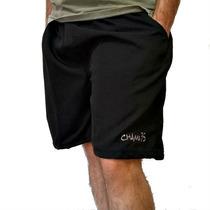 Bermudas Masculina Tactel Com Bolso Academia Musculação