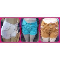 Shorts Colorido Feminino
