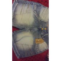 Kit 3 Peç Shorts Jeans Feminino Nº48
