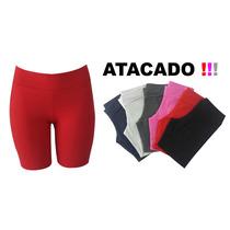 Shorts Fitness Academia Saia Feminino Ginastica Leggings