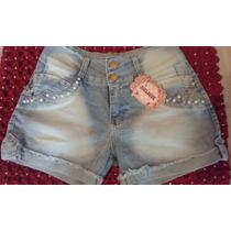 Shorts Jeans Feminino Tamanhos 48 Ao 52