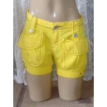 Shorts Jeans Feminino Marca Boby Blues Tam.36 S/strech S4
