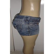 Shorts Jeans Feminino Marca Kaslik Tam. 36 C/ Strech S5