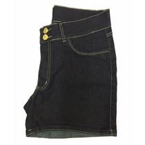 Short Feminino Jeans Com Elastano Tamanhos Grandes 44 Ao 60