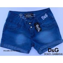 Shorts Jeans Femininos Diesel, Ecko, Carmim, Puma - 10 Peças
