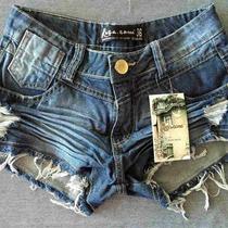 Lindos Shorts Jeans!!! Seja Top Você Também! Vários Modelos.