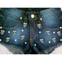 Short Feminino Jeans Customizado