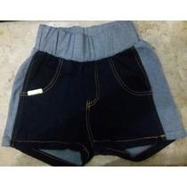 Short Jeans Lycra Moleton Cós Latera 36 A 44 Promoção 49,90!
