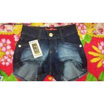 Shorts/bermuda Jeans Hot Pants/cintura Alta
